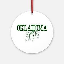 Oklahoma Roots Ornament (Round)