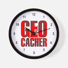 Canadian Geocacher Wall Clock