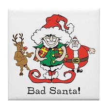 Custom Christmas Tile Coaster
