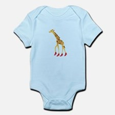 Heeled Giraffe Body Suit