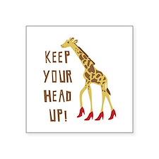 Head Up! Sticker
