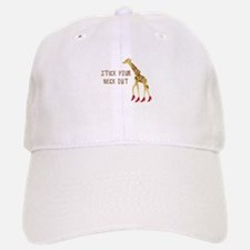 Stick Your Neck Out Baseball Baseball Baseball Cap