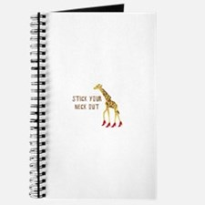 Stick Your Neck Out Journal