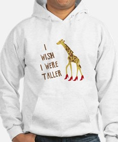 Wish I Was Taller Hoodie