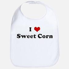 I Love Sweet Corn Bib