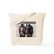 Welsh Cob Ponies Tote Bag