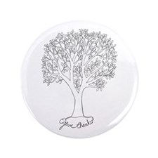 """Give Thanks Tree 3.5"""" Button"""
