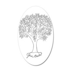 Give Thanks Tree Wall Decal