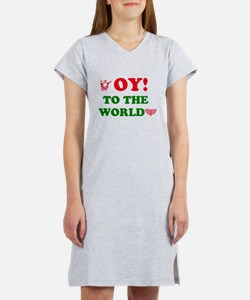 Oy To the World Women's Nightshirt