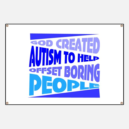 Funny autism Banner
