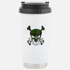 MacKay Tartan Skull Travel Mug