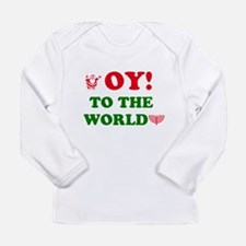 Oy To the World Long Sleeve Infant T-Shirt