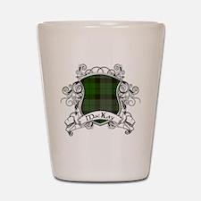 MacKay Tartan Shield Shot Glass