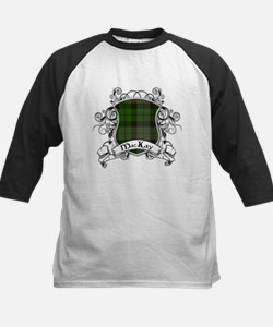 MacKay Tartan Shield Kids Baseball Jersey