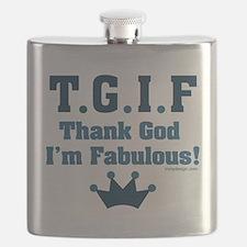Unique Satire Flask