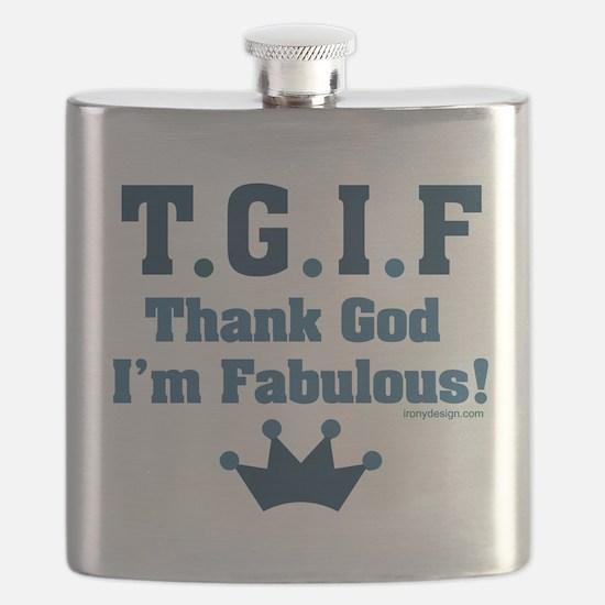 Cute Fabulous Flask