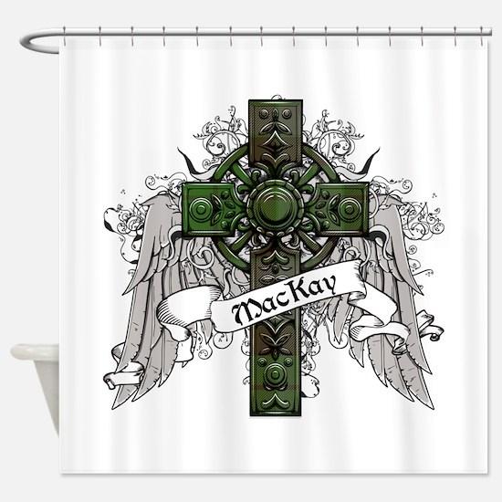 MacKay Tartan Cross Shower Curtain