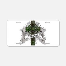 MacKay Tartan Cross Aluminum License Plate