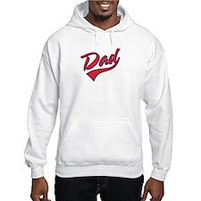 Baseball Swoosh Dad Hoodie