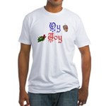 Oy Joy Fitted T-Shirt