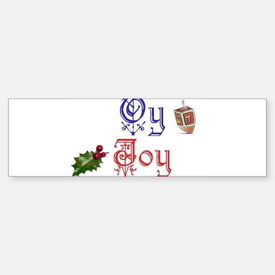 Oy Joy Sticker (Bumper)