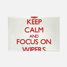 Keep Calm and focus on Wipers Magnets