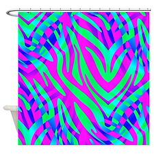 Cute Zebras Shower Curtain