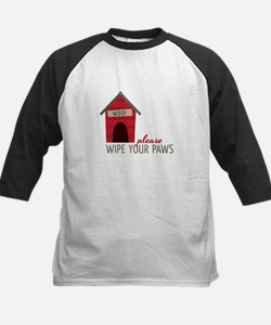 Wipe Your Paws Baseball Jersey