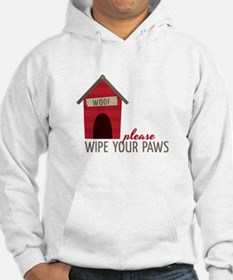 Wipe Your Paws Hoodie