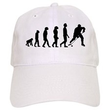 Hockey Evolution Baseball Baseball Cap