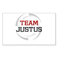 Justus Rectangle Decal