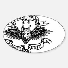 Cute Israeli defence forces Sticker (Oval)