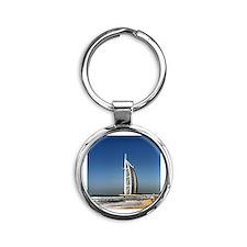 Burj al Arab Round Keychain