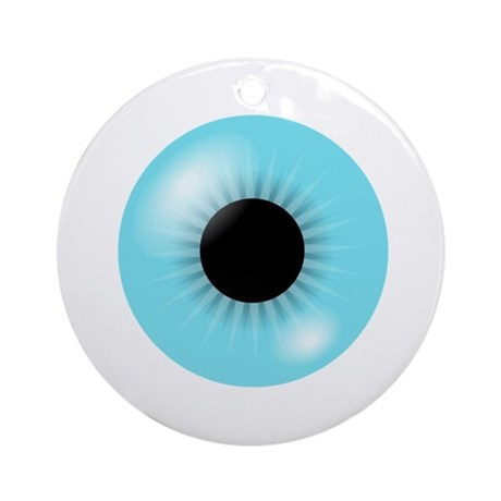 Big Eyeball Ornament (Round)
