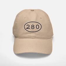 280 Oval Baseball Baseball Cap