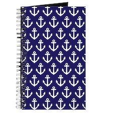 Anchor Nautical Navy Blue Journal