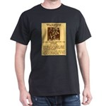 Warning to Moochers Dark T-Shirt