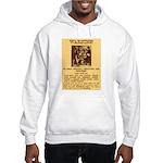 Warning to Moochers Hooded Sweatshirt