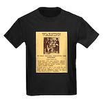 Warning to Moochers Kids Dark T-Shirt