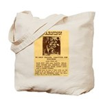 Warning to Moochers Tote Bag