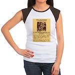 Warning to Moochers Women's Cap Sleeve T-Shirt