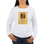 Warning to Moochers Women's Long Sleeve T-Shirt
