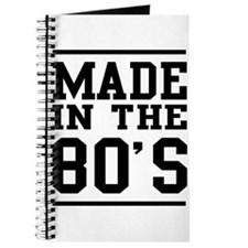 Made In The 80's Journal