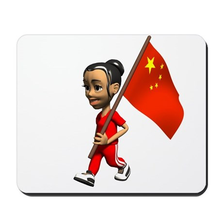 China Girl Mousepad