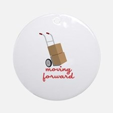 Moving Forward Ornament (Round)