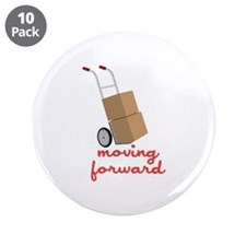 """Moving Forward 3.5"""" Button (10 pack)"""