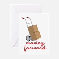 Moving Forward Greeting Cards