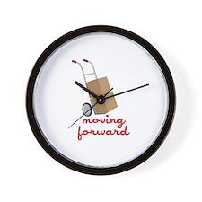 Moving Forward Wall Clock