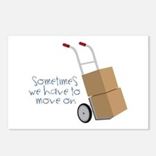 Move On Postcards (Package of 8)