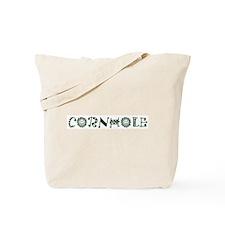 Cornhole (crazy letters) Tote Bag